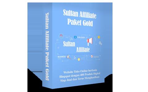 Sultan Affiliate Paket Gold
