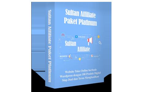 Sultan Affiliate Paket Platinum