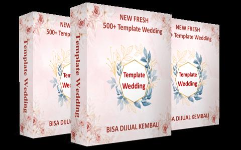 New Template Wedding (Lisensi Personal) dan Bonus (Sekali Bayar)