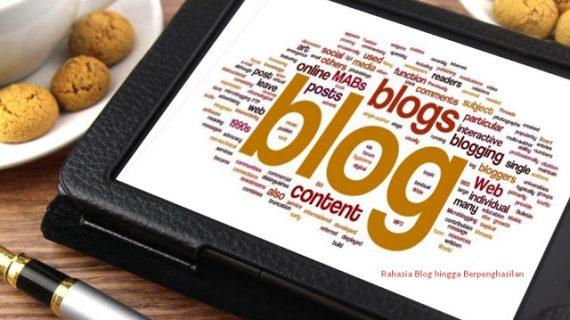 9 Langkah Rahasia Lengkap Para Blogger Sukses